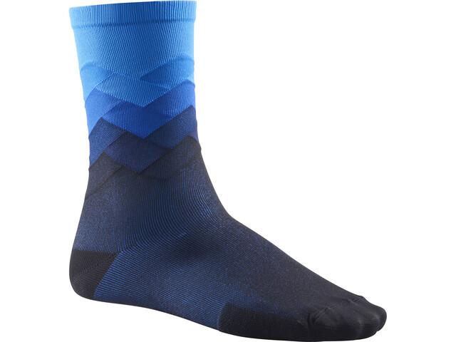 Mavic Cosmic Graphic Socks dresden blue